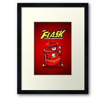 The Flask Prints Framed Print