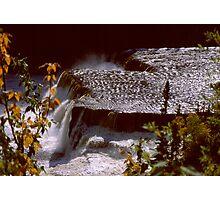 Root Beer Falls, Hay River NWT Photographic Print