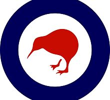 Royal New Zealand Air Force - Roundel by wordwidesymbols