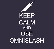 KEEP CALM AND USE OMNISLASH (WHITE) Unisex T-Shirt