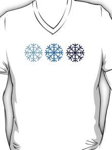 Blue snow T-Shirt