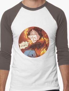 Bravely Default - Ominas Crowe Men's Baseball ¾ T-Shirt