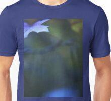 Leaves in blue square medium format film analog photographs Unisex T-Shirt