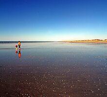 Eighty Mile Beach,  Western Australia by Adrian Paul