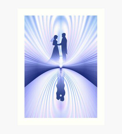 Wedding Couple Art Print