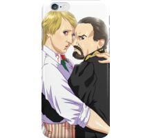 5th Doctor and The Master iPhone Case/Skin