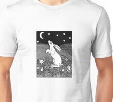 To gaze upon the Moon Unisex T-Shirt