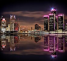 Refections of Detroit by ReflectPhoto