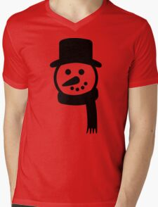 Snowman face hat T-Shirt