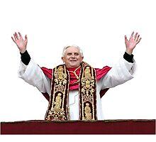 Cardinal Sin Photographic Print