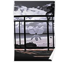 Beach & Balcony Poster