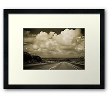 The Road to Roswell Framed Print