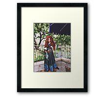 Disney's Merida  Framed Print