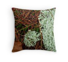 Interior Decorating:  The Forest Floor Throw Pillow