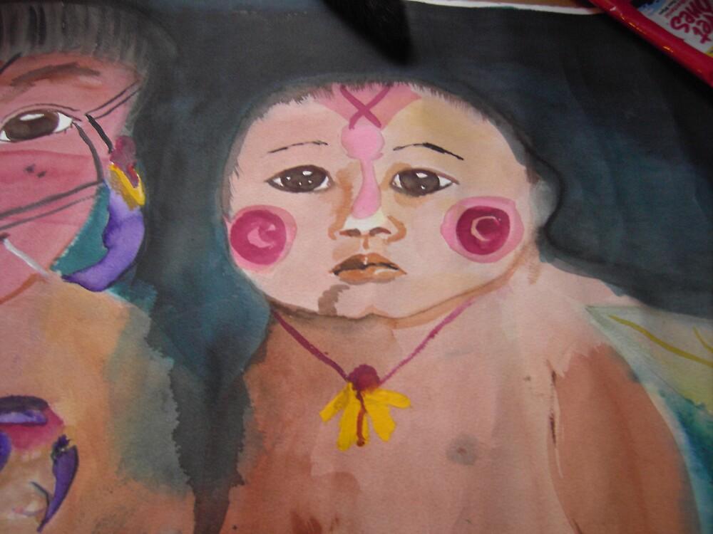 Rainforest Children by scrip50