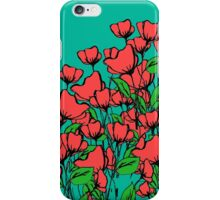 Poppies 2 iPhone Case/Skin