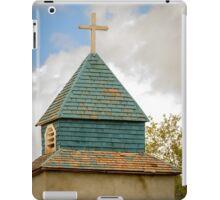 Cross and steeple on an old church iPad Case/Skin