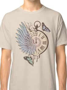 Le Temps Passe Vite (Time Flies) Classic T-Shirt