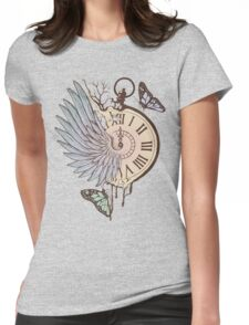 Le Temps Passe Vite (Time Flies) Womens Fitted T-Shirt