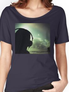 Ibiza house music chillout DJ deejay 35mm xpro cross processed lomographic film lomography analog photo Women's Relaxed Fit T-Shirt