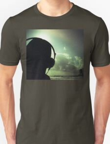Ibiza house music chillout DJ deejay 35mm xpro cross processed lomographic film lomography analog photo Unisex T-Shirt