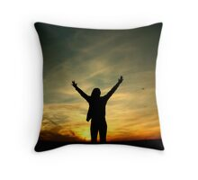 open space Throw Pillow