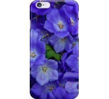 Blue Bells Carpet. Amsterdam Floral Market iPhone Case/Skin
