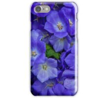 Blue Bells Carpet. Amsterdam Floral Market iPhone Case/Skin