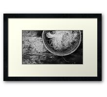 Bowl of Twine TRES Framed Print