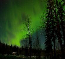 Feb 14th/09 ..Northern Lights .... by peaceofthenorth