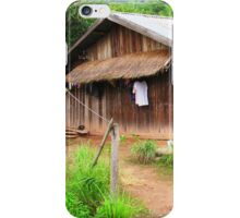 Traditional Windowless Hmong House  iPhone Case/Skin