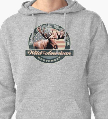 bull moose Pullover Hoodie
