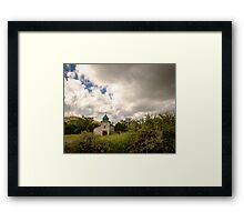 Old church in mountains Framed Print