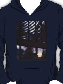 Beach house window at dawn Ibiza Spain square Hasselblad medium format film analog photographer T-Shirt