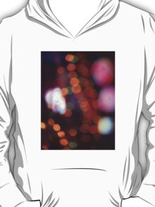 Red purple abstract photo of bokeh lights square Hasselblad 6x6 medium format film analogue photograph T-Shirt