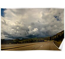 New Mexico USA Storm Ahead Poster