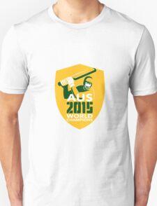 Australia Cricket 2015 World Champions Shield T-Shirt