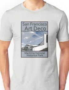 San Francisco Art Deco - Maritime National Historical Park Unisex T-Shirt