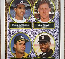 374 - Top Prospects – Second Basemen by Foob's Baseball Cards