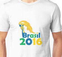 Brasil 2016 Summer Games Athlete Hand Torch Unisex T-Shirt