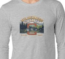 motorcycle wilderness Long Sleeve T-Shirt
