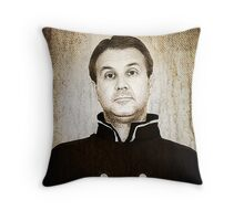 Captain Nelson Throw Pillow
