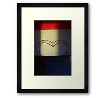 Love Shadow Framed Print