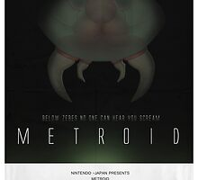 Below Zebes - Metroid Poster by CuriousityShop