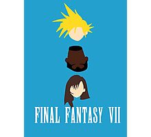 BFF (Best Final Fantasy) Photographic Print