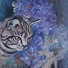Inquisitive Cat by wendie patch