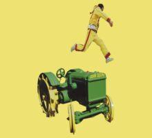 the 100 meter tractor jump by donovan tillet