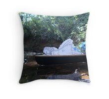 Alice is Dreaming Throw Pillow