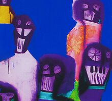 Electric Blue Robbers by Roy B Wilkins