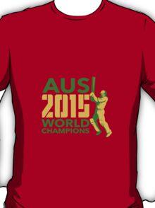 Australia AUS Cricket 2015 World Champions T-Shirt